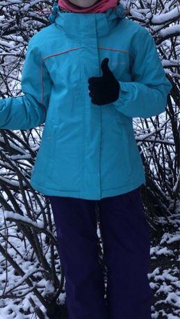 Костюм лыжный на девочку