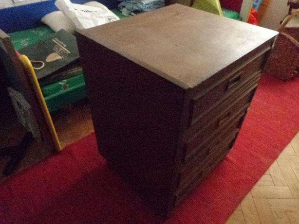Movel com gavetas em madeira apoio televisao comoda decoração cozinha