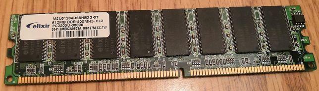 ELIXIR Pamięć RAM DDR 400 512 MB CL-3 PC-3200