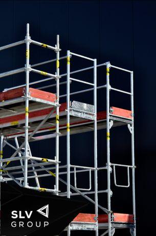 Rusztowanie nowe 80m wys.6,5m dł.12m do pletak od ręki rusztowania SLV