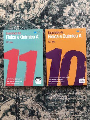 Livros de exames - Física e Química A (10°/11°)
