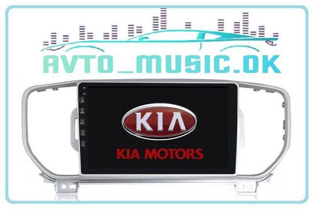 Магнитола KIA Sportage IV Android 10,0 USB, GPS, 3Gb RAM! 4G!