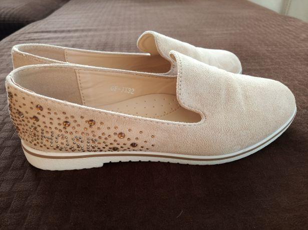 Buty , buciki dziewczęce r 34