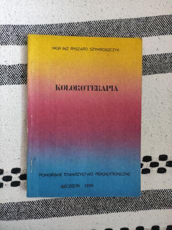 Koloroterapia, książka Ryszard Szymroszczyk