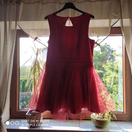 Sukienka weselno-imprezowa.