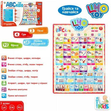 Плакат  интерактивный обучающий Английский язык