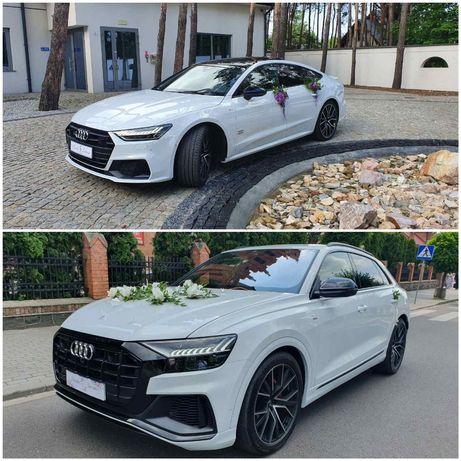 Auto do ślubu Nowy model audi A7 i Q8