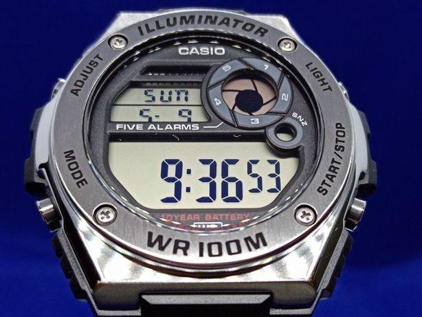 Casio MWD-100H-1AVEF 10 Year Battery - Novo e Original