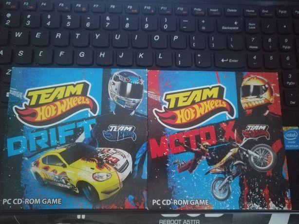 Team Hot Wheels Drift oraz Moto X PC