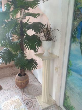 Грецькі колони підставка під вазонок декор