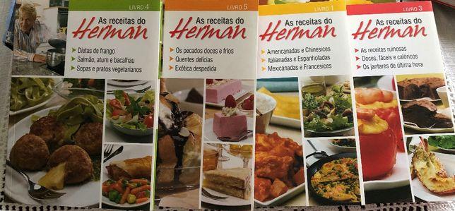 Conjunto Livros Gastronomia