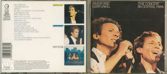 Simon and Garfunkel-The Concert In Central Park