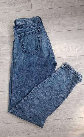 Spodnie z niskim stanem