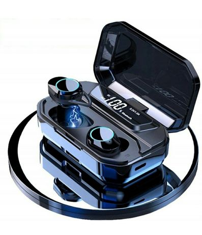 Słuchawki Bezprzewodowe  Powerbank 3300mAh , Bluetooth 5.0, G02