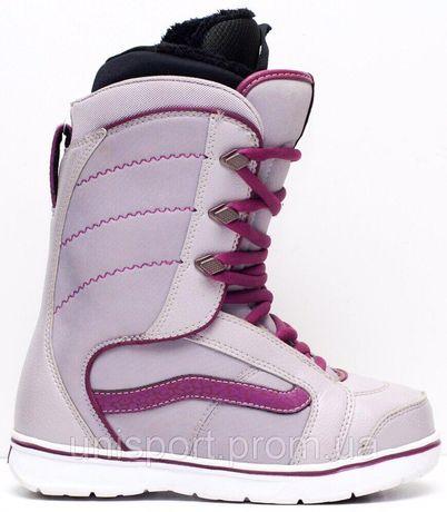 Новые сноубордические ботинки Vans Hi Standard, 38 р. Для сноуборда