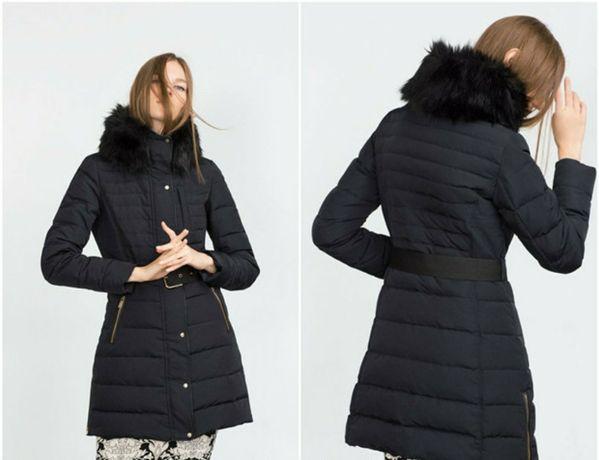 Пуховик куртка пальто Zara. Оригинал(Испания).