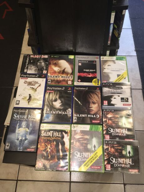 [Zamienie] Silent Hill / Playstation / PS1 / PS2 / PS3 / Xbox