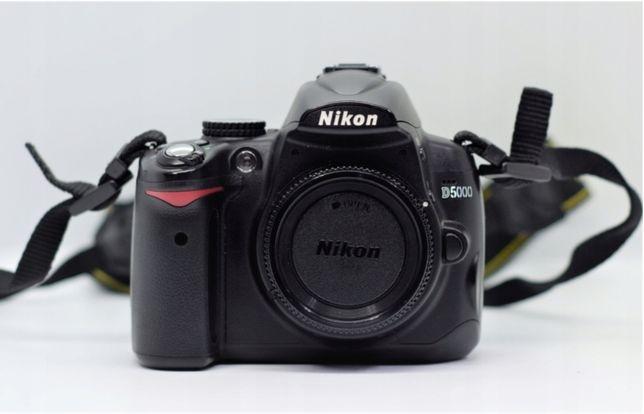 Nikon d5000 + obiektyw nikkor 18-105, lustrzanka
