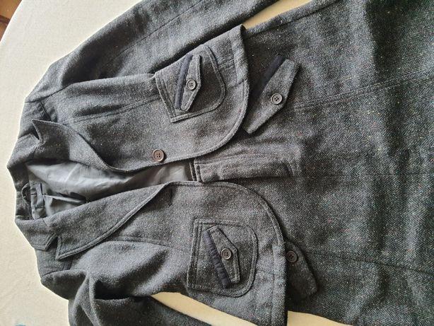 Żakiet marynarka spódnica komplet