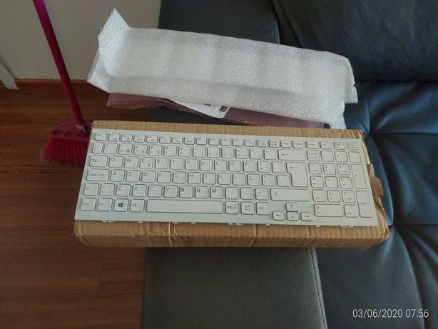 Vendo teclado Sony vaio novo vpc-ee, vpc-ee3e1e/wi, vpc-ee3m1r/bq