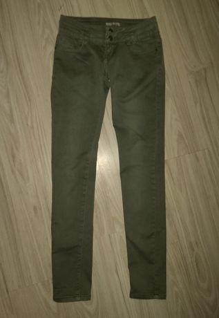 Spodnie,rurki khaki xs nowe