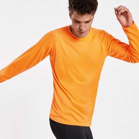 Koszulka MONTECARLO L/S  pomarańcz