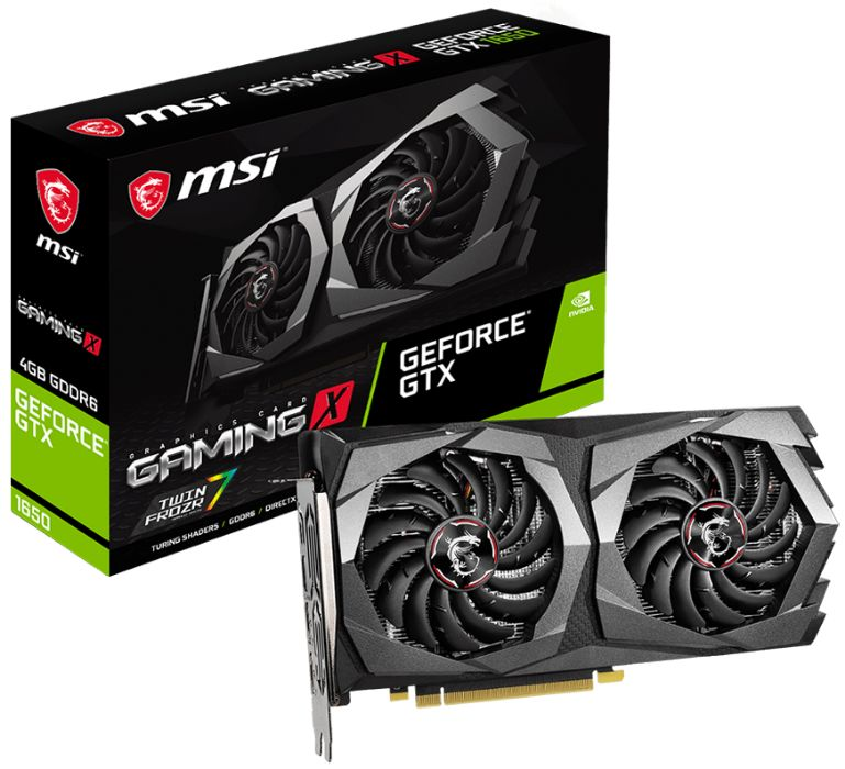 Видеокарта MSI GeForce GTX 1650 D6 GAMING 4096MB Полтава - изображение 1