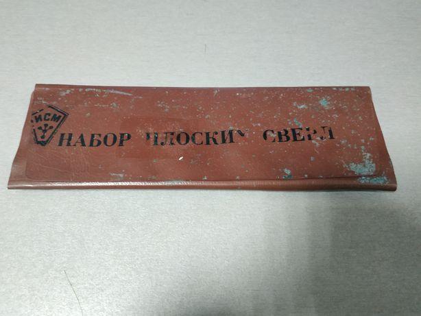 Набор плоских свёрл 10-25 мм (вогнутые)