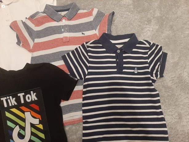 Zestaw koszulek  110 116 H&M Tik Tok