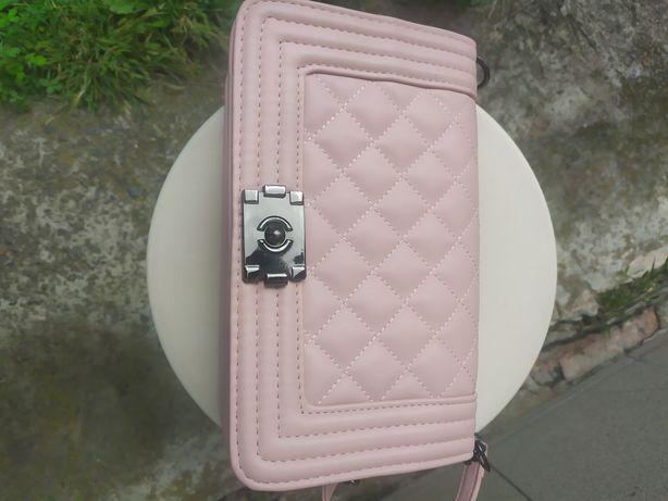 Сумка Шанель Розовая