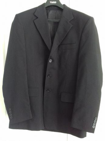 Czarny garnitur męski wzrost 180/182