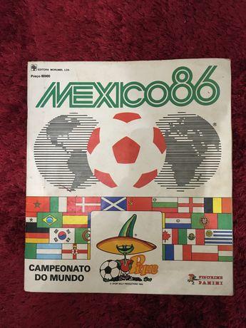 Caderneta completa campeonato do mundo mexico 86