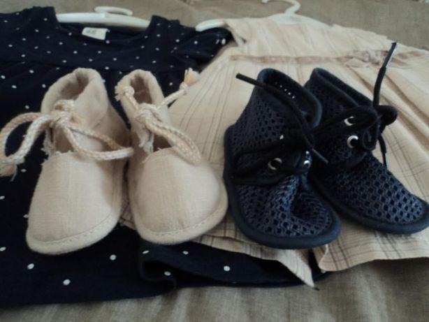Sapatos bebé Zara Novos