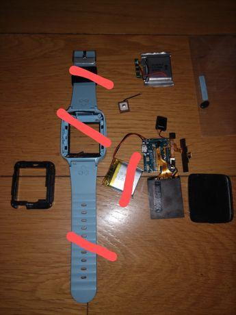 Разборка смарт часы Q528,  аккумулятор 582728