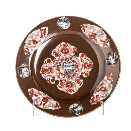 Prato Porcelana Chinesa Século XVIII