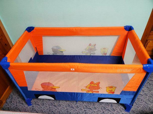 Раскладной манеж- кроватка