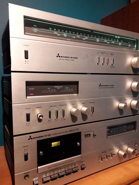 Mitsubishi DA-F630E DT-530 DA-U530 Wzmacniacz Tuner Deck Diatone Hi-Fi