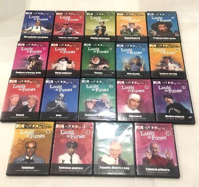 Louis de Funes - Kolekcja 19 filmów - Zestaw 19 DVD