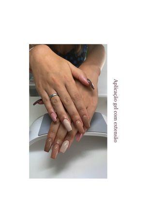Unhas de Gel, Verniz Gel, Jelly Gel, Manicure e Pedicure