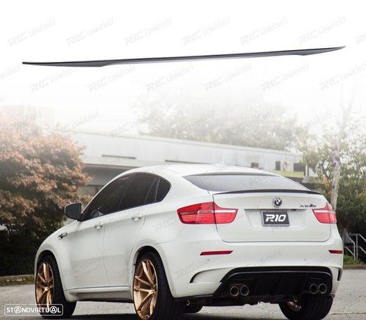 AILERON / LIP / SPOILER BMW X6 E71 LOOK M PERFORMANCE PRETO BRILHANTE