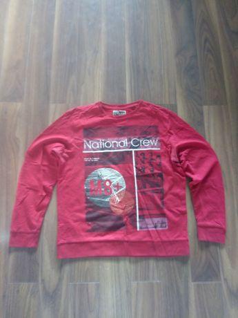 Bluza męska L czerwona