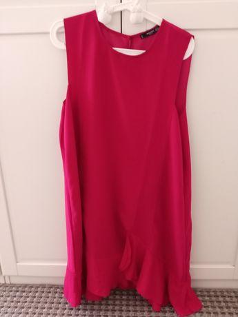 Vestido rosa Mango XL
