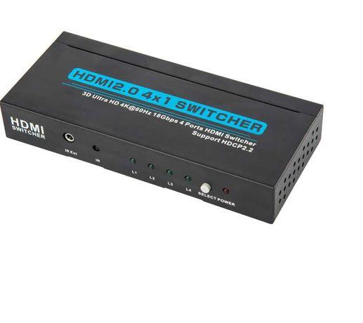 4-portowy przełącznik kvm HDMI Switcher Series