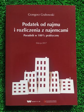 "Książka ""Podatek od najmu... "" Grabowski"