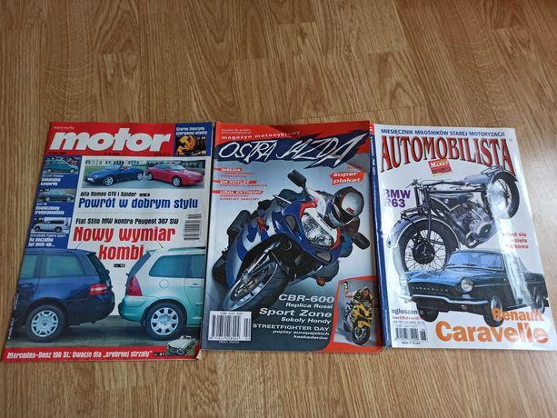 Motor 19 / 2003 ostra jazda 2/2001 automobilista 6/2004 czasopismo