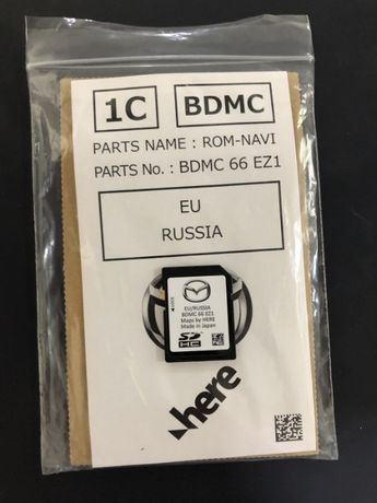 2021 Навигация Mazda 3 / CX-30  Европа Украина SD card SD карта