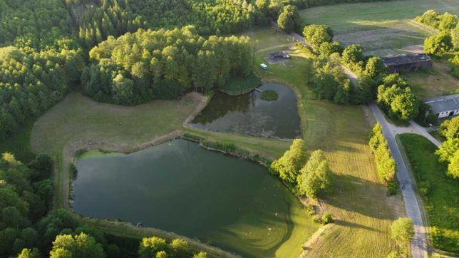 Brokowo działka nad rzeką na dom, rekreacje, elektrow. wodna, hodowle