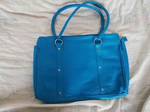 Torebka A4 kolor niebieski