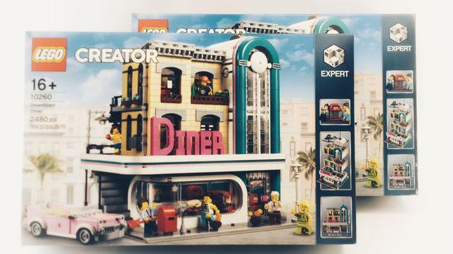 LEGO Creator Expert 10260 Bistro w śródmieściu NOWY ZAPLOMBOWANY