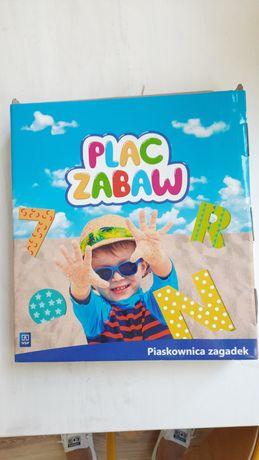 Plac Zabaw. Piaskownica Zagadek